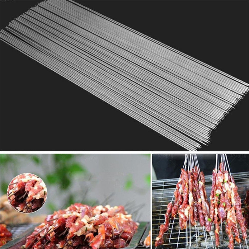 Stainless Steel Barbecue Skewers