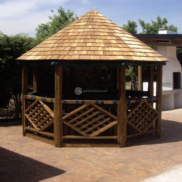 Wooden Garden Gazebo Kit Quot Marco Quot For Sale Best Price