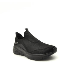 Load image into Gallery viewer, womens black skechers