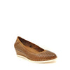 tan wedge shoes