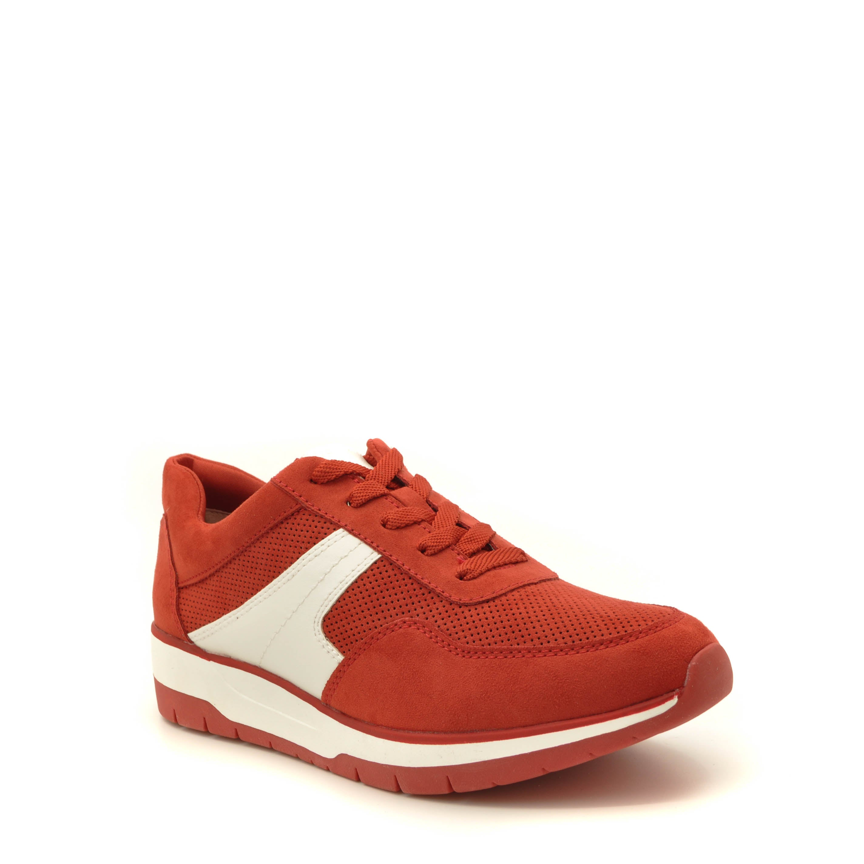 Red Trainers Tamaris