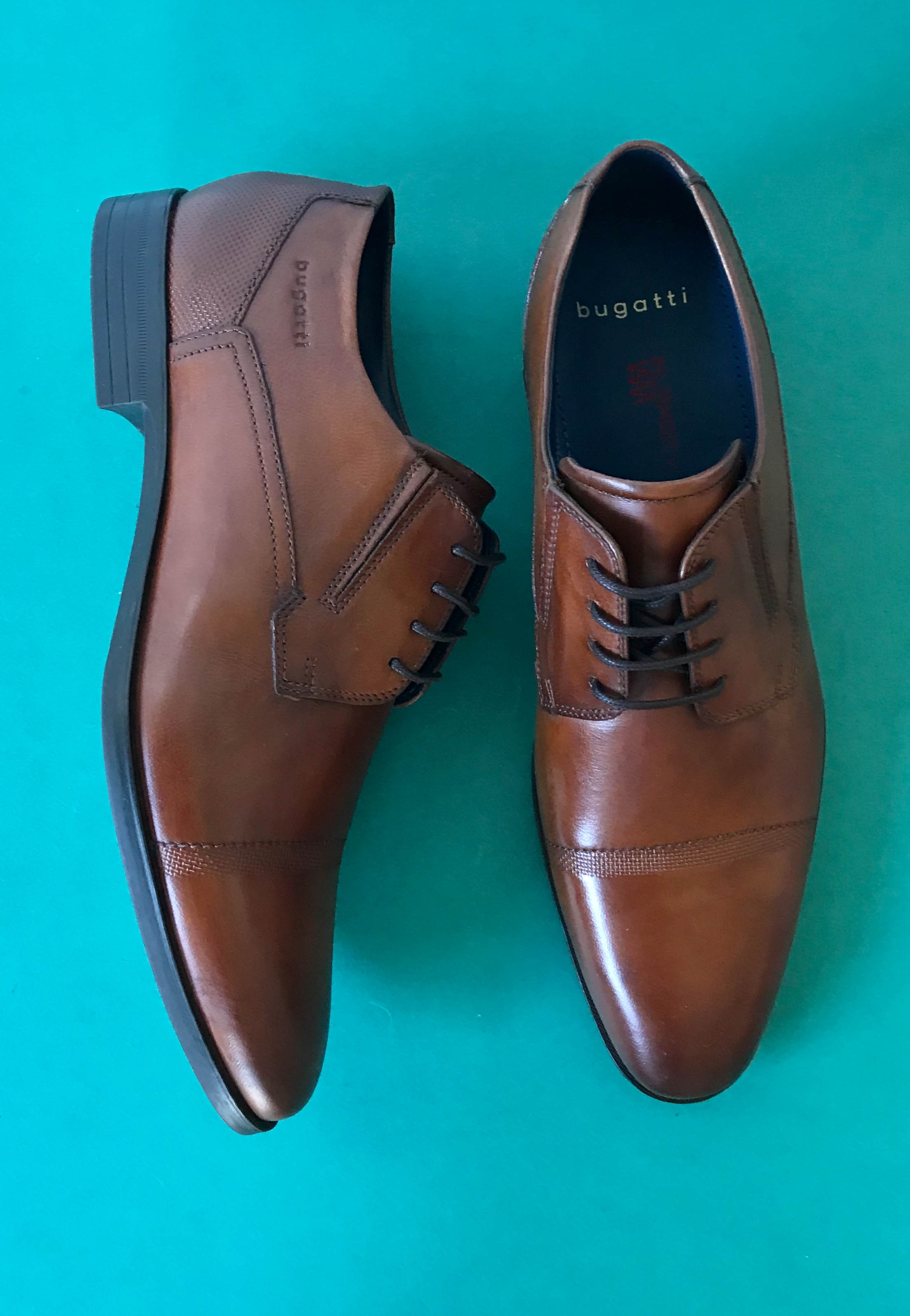 dress shoes for men tan bugatti
