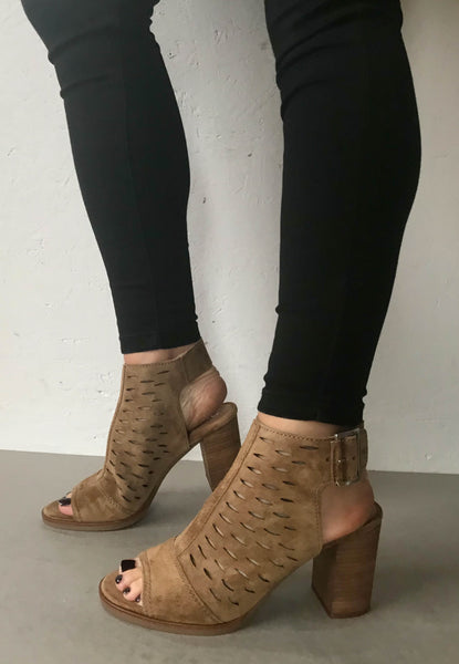 dress sandals tan suede