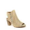 beige high heeled sandal xti