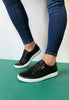 black ecco shoes