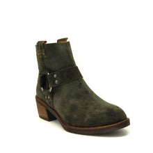 Load image into Gallery viewer, suede ankle boots Green Alpe