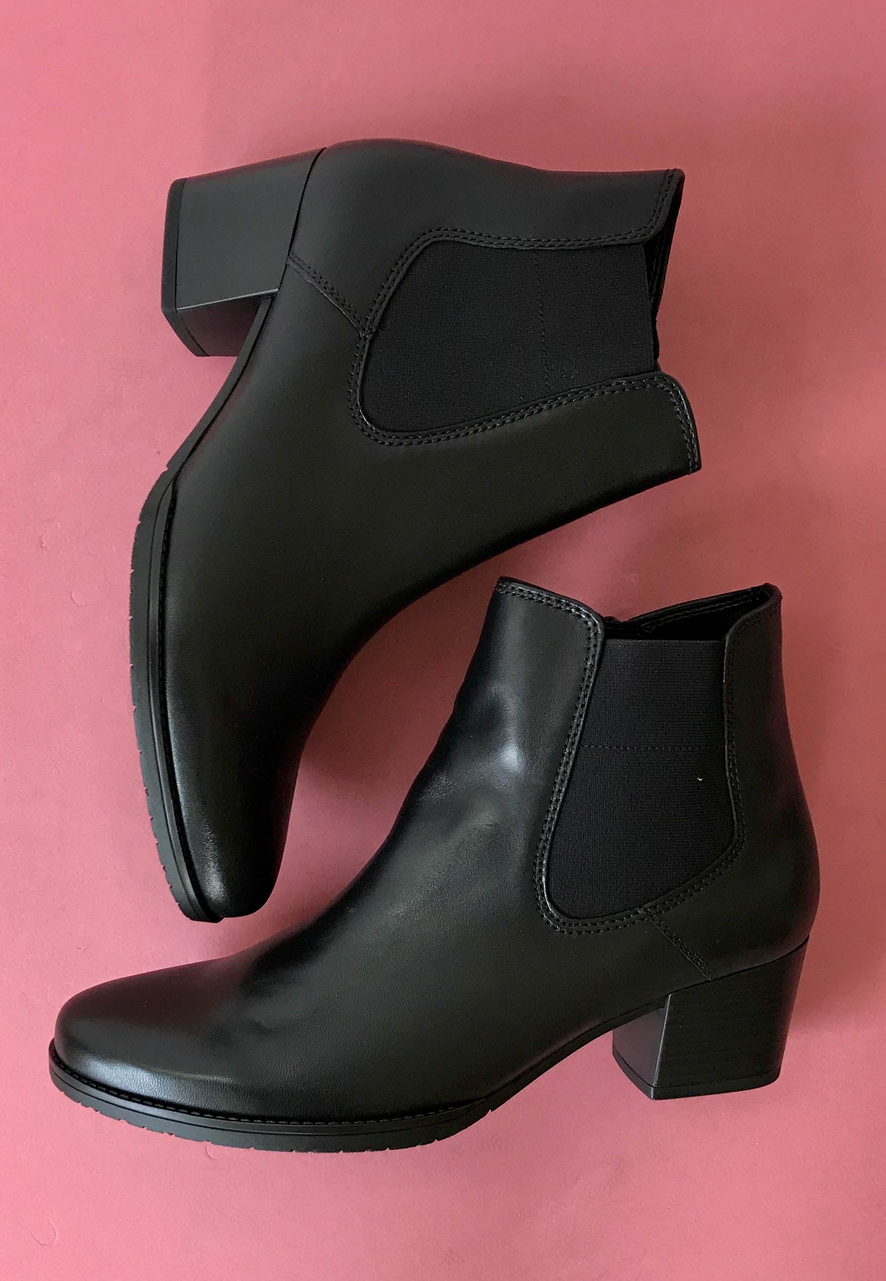 black ankle boots Gabor