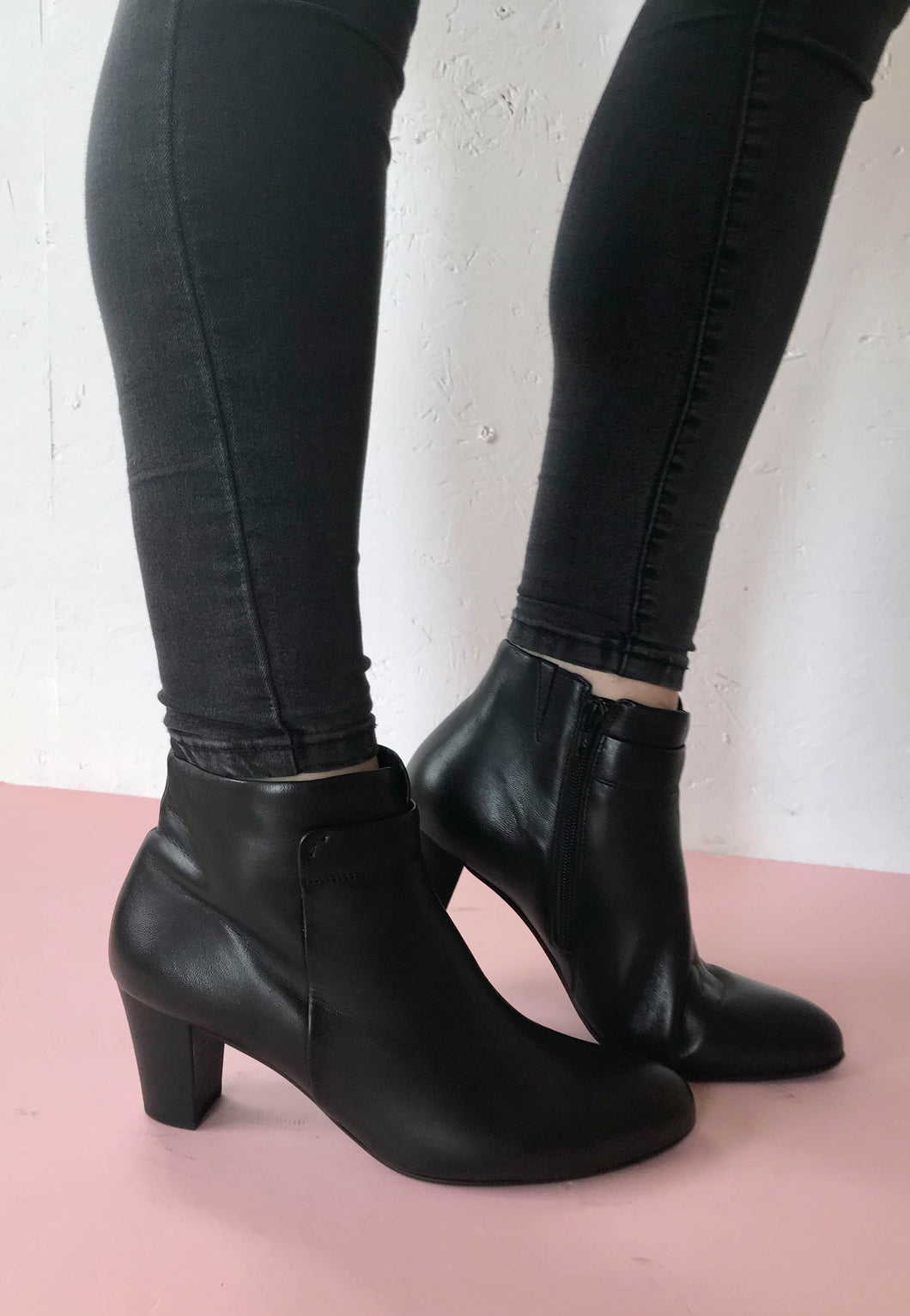ankle boots gabor black