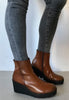 tan wedge boots Gabor