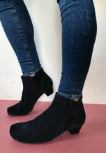 Load image into Gallery viewer, navy ankle boots Gabor