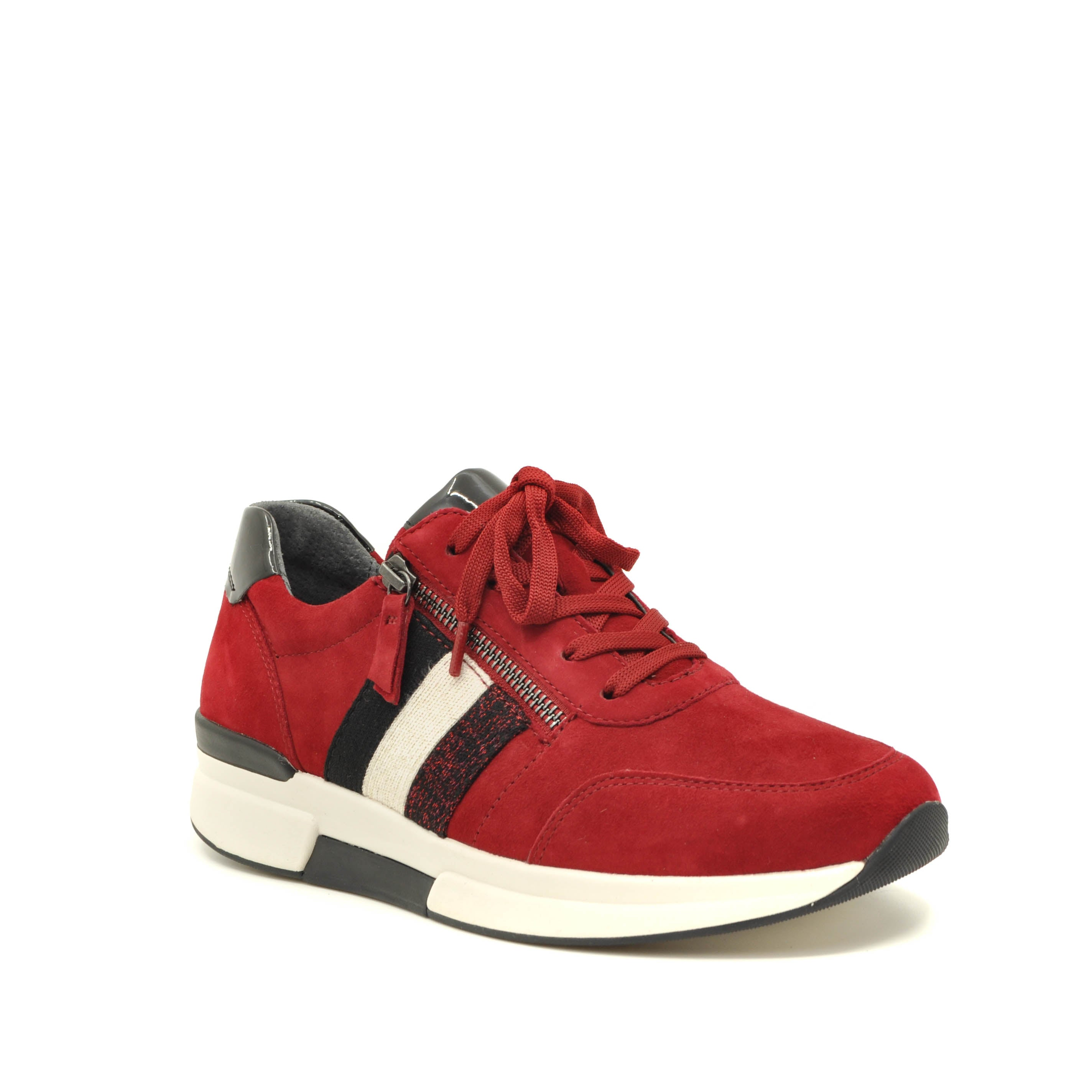 gabor trainers red