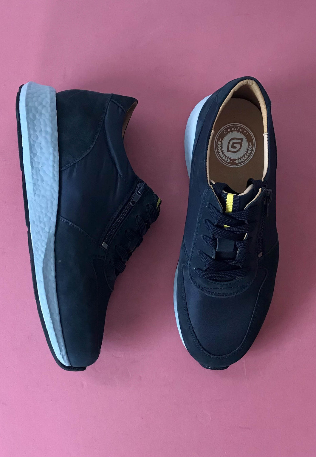navy shoes G comfort