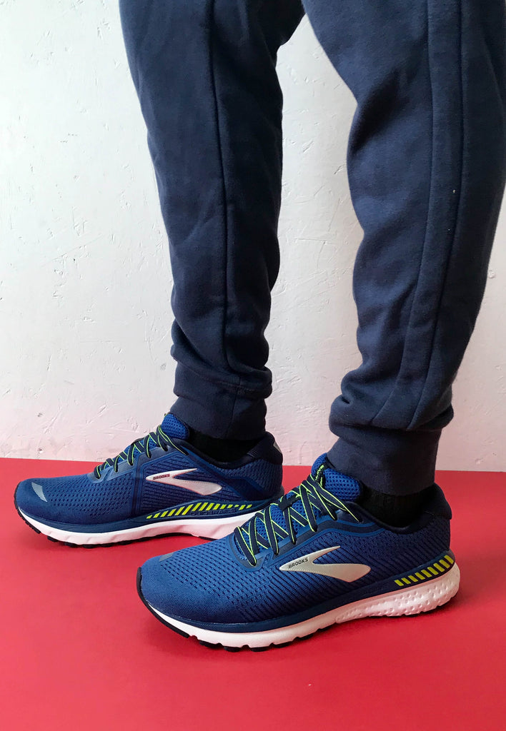 Blue runners