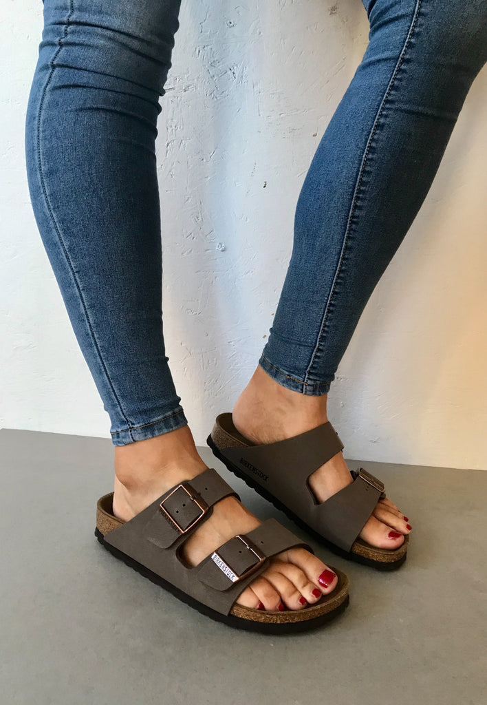 Birkenstock Arizona Womens Sandal Mocha at Batemans Footwear