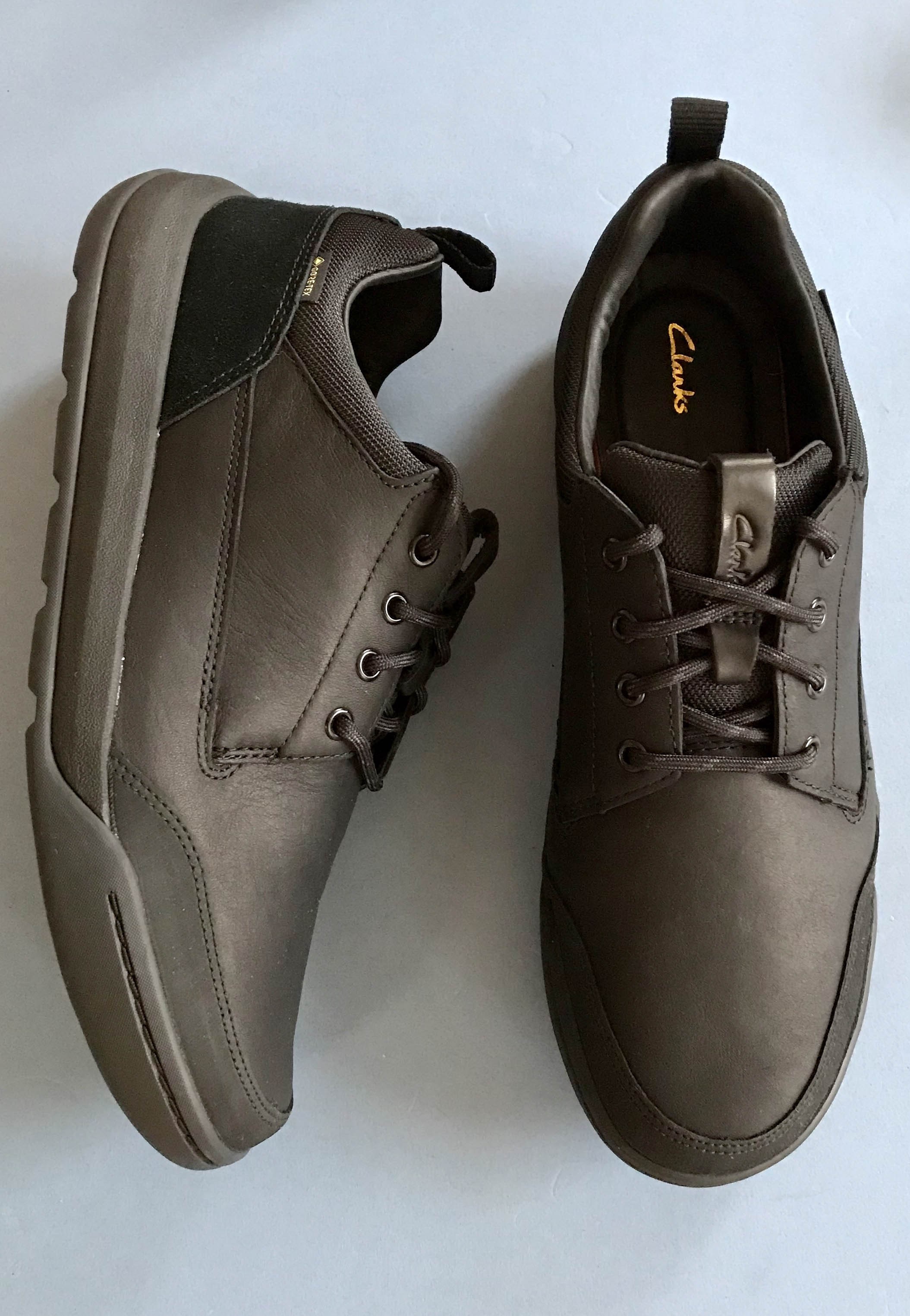 brown shoes mens clarks