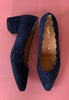 low heel shoes navy gabor