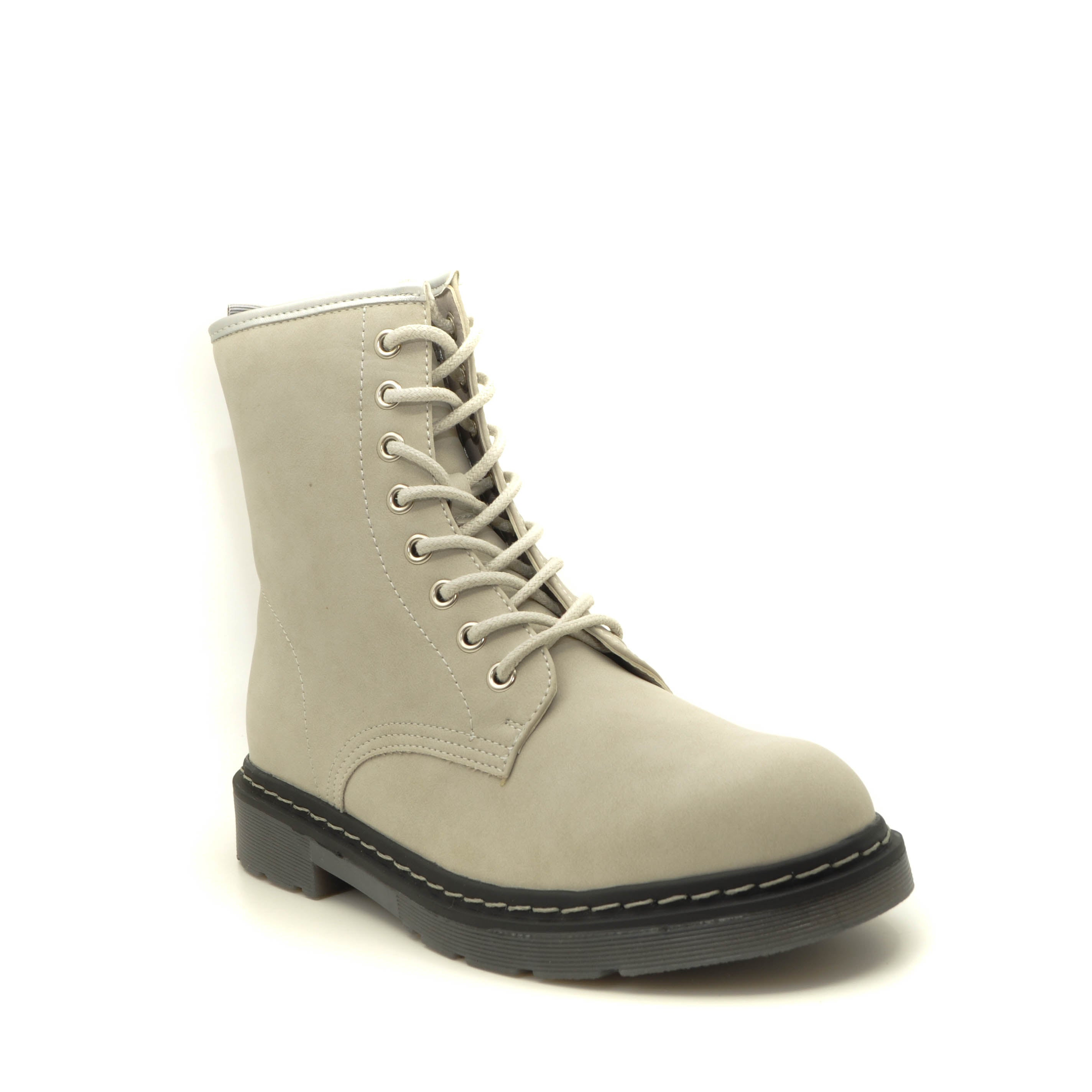 grey ankle boots Drilleys