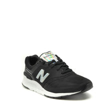 Load image into Gallery viewer, ladies black new balance trainers