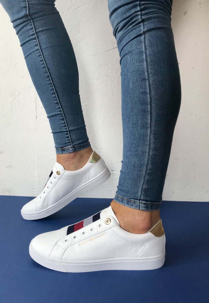slip on trainers tommy hilfiger
