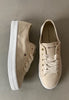 fashionable ladies shoes beige