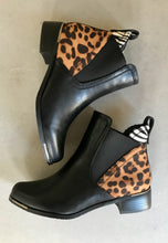 Load image into Gallery viewer, leopard print Ankle boots lunar