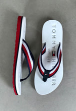 Load image into Gallery viewer, slide sandals white Tommy hilfiger