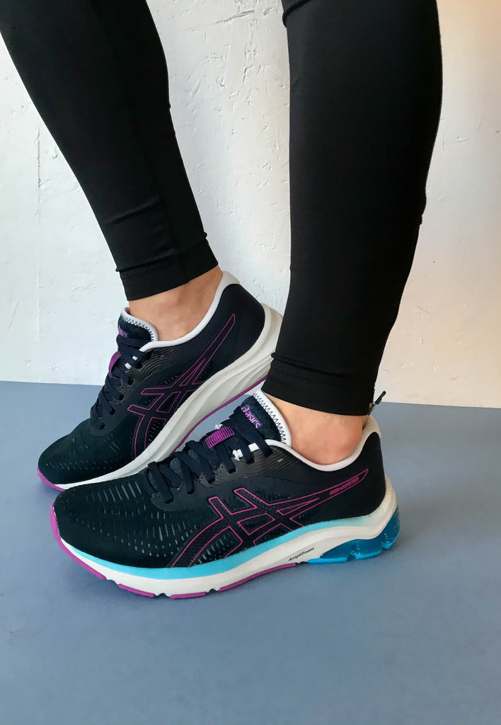 asics navy womens