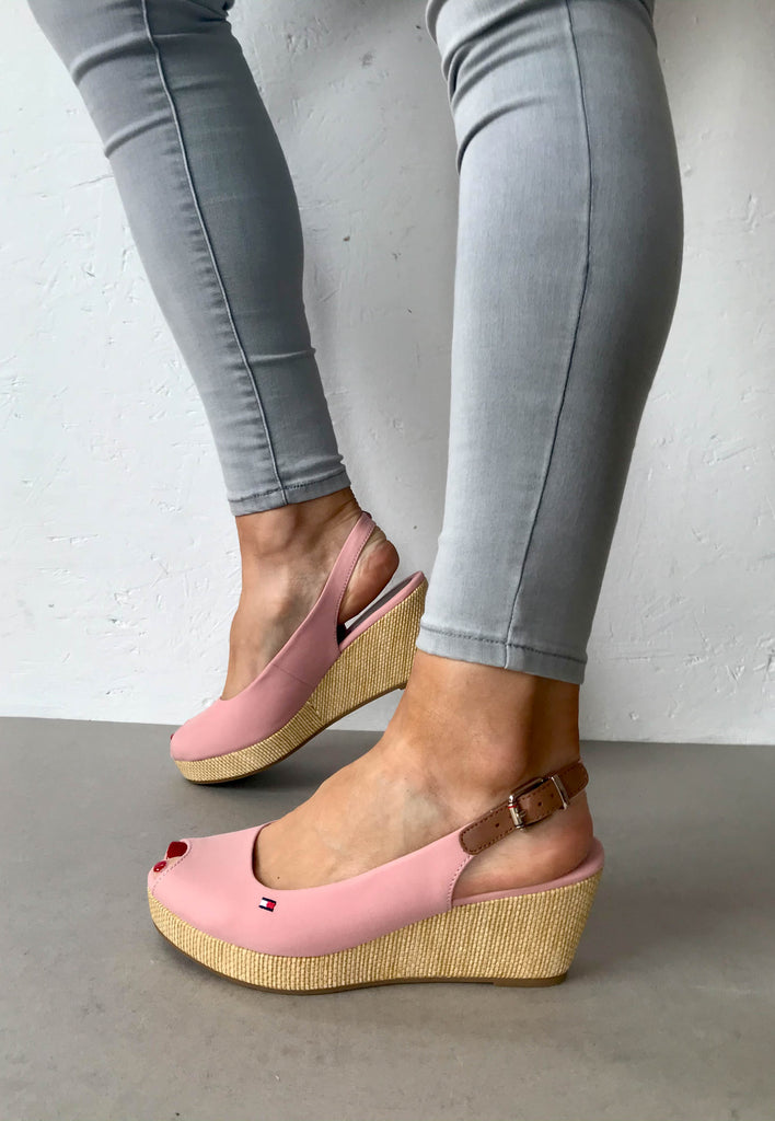 wedge Shoes pink