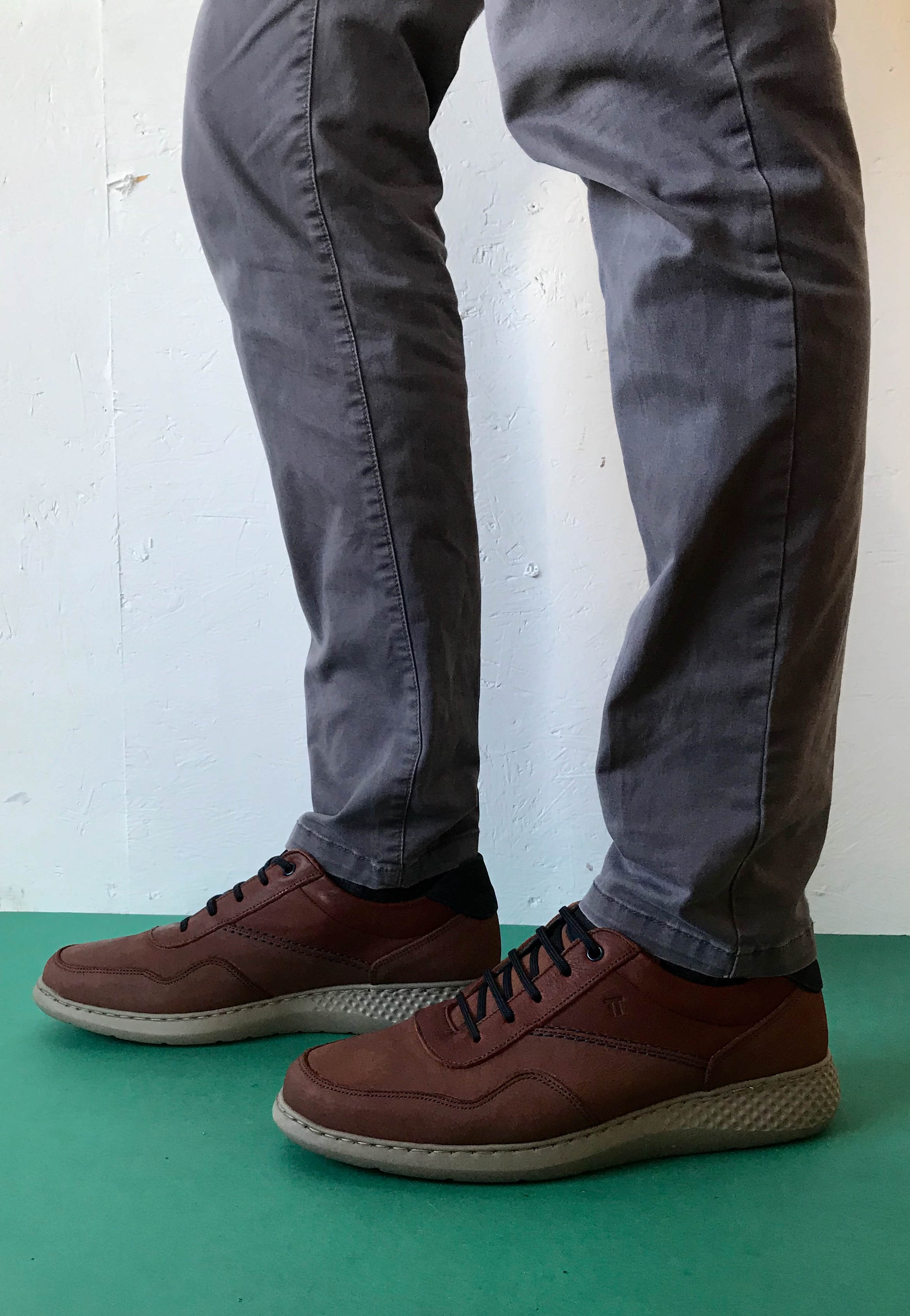 brown shoes men notton