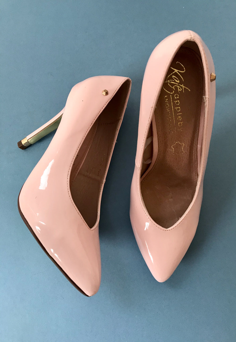 pink court shoes