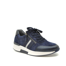 Load image into Gallery viewer, Navy Trainers Gabor