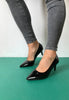 black patent womens shoes