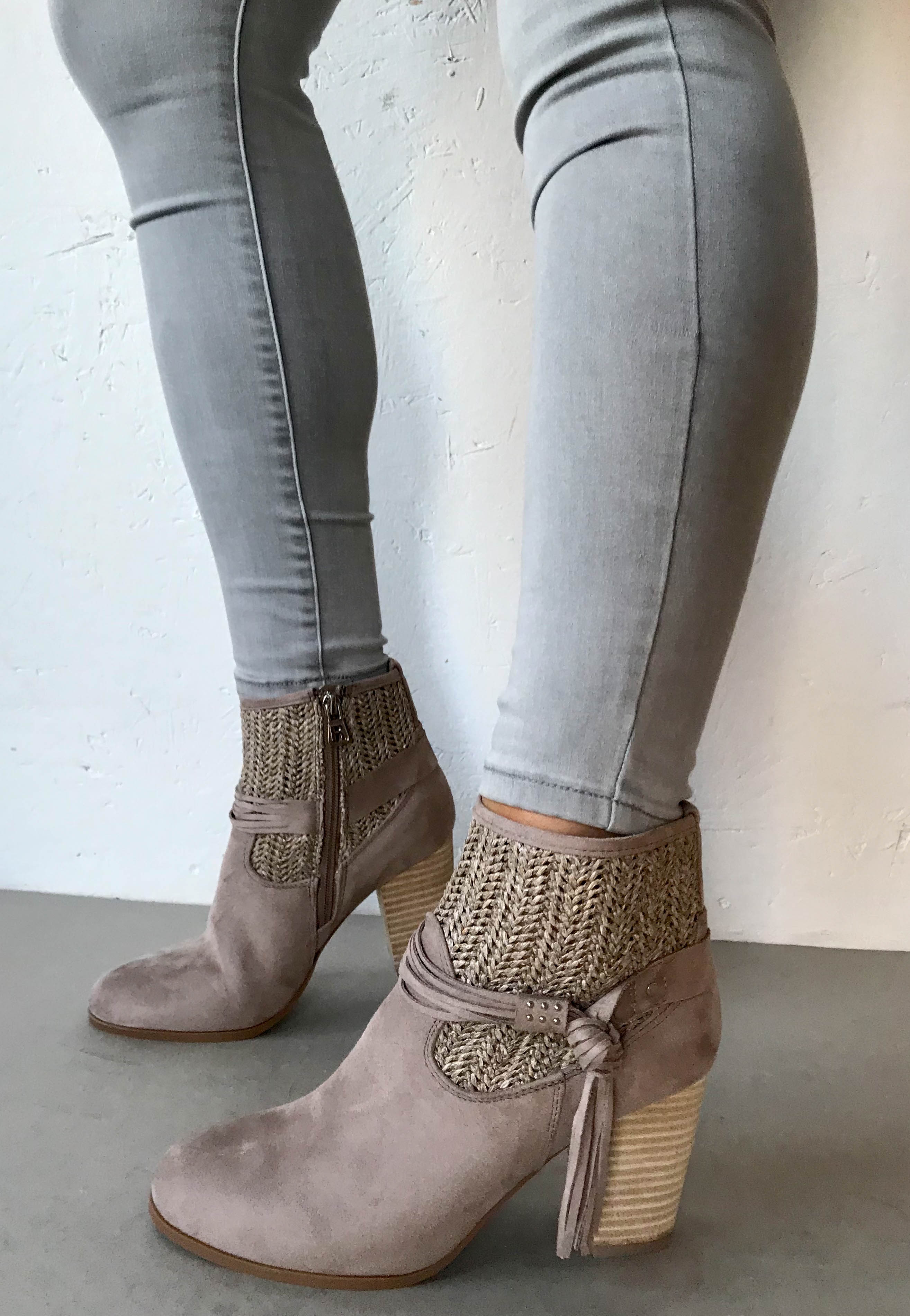 Taupe ankle boots refresh
