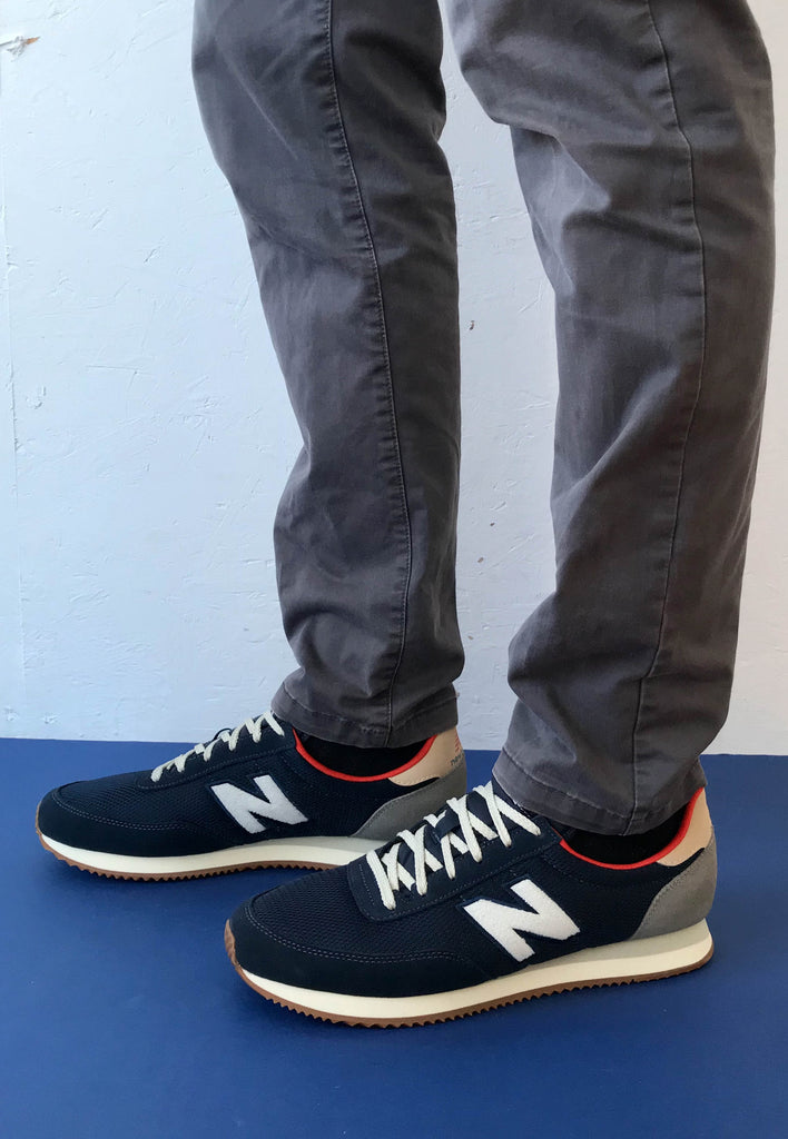 Navy Trainers mens new balance