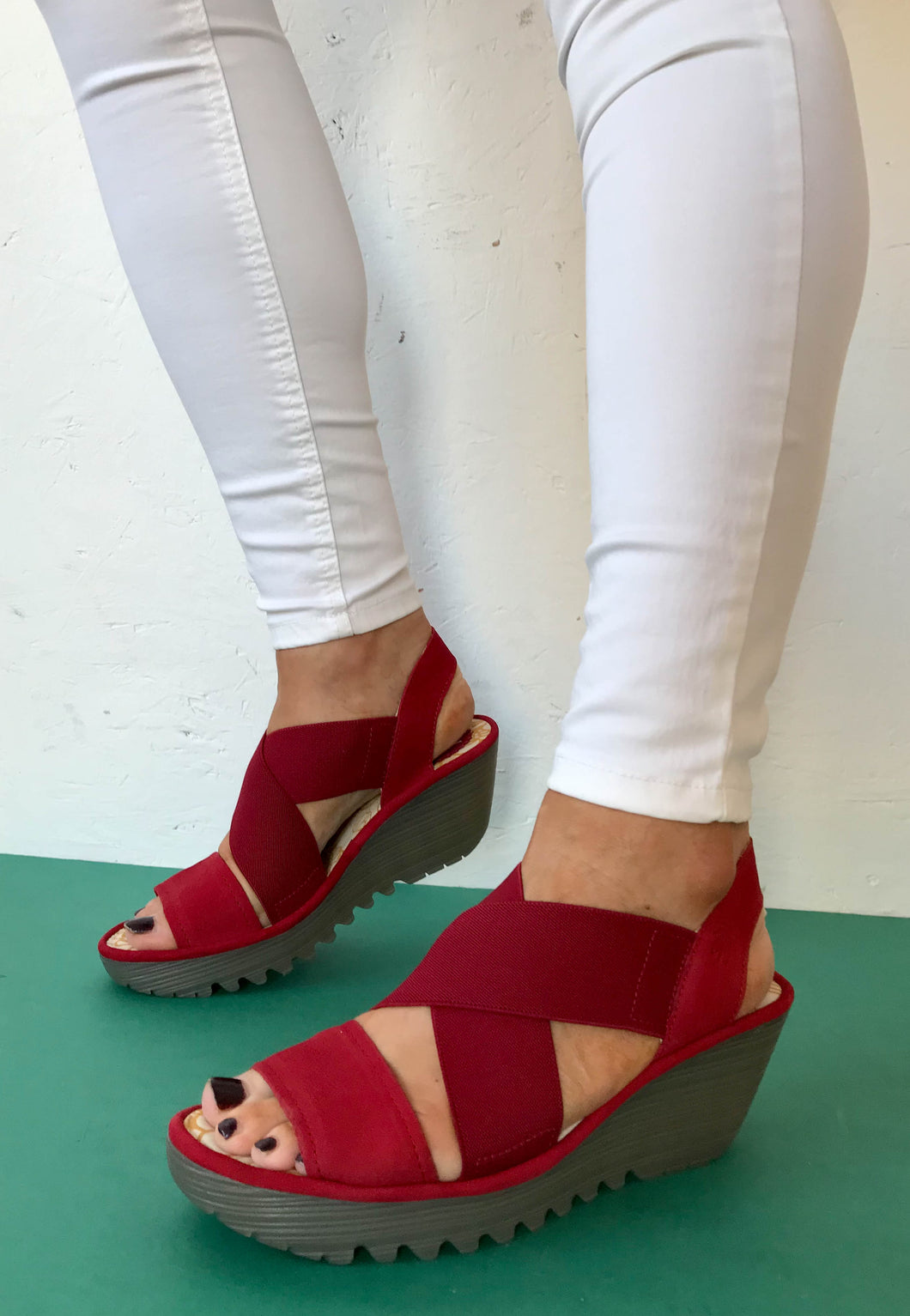red fly londan sandals