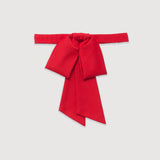 Bow, bowtie, Anika, Red, Pre-tied, One size, stylish