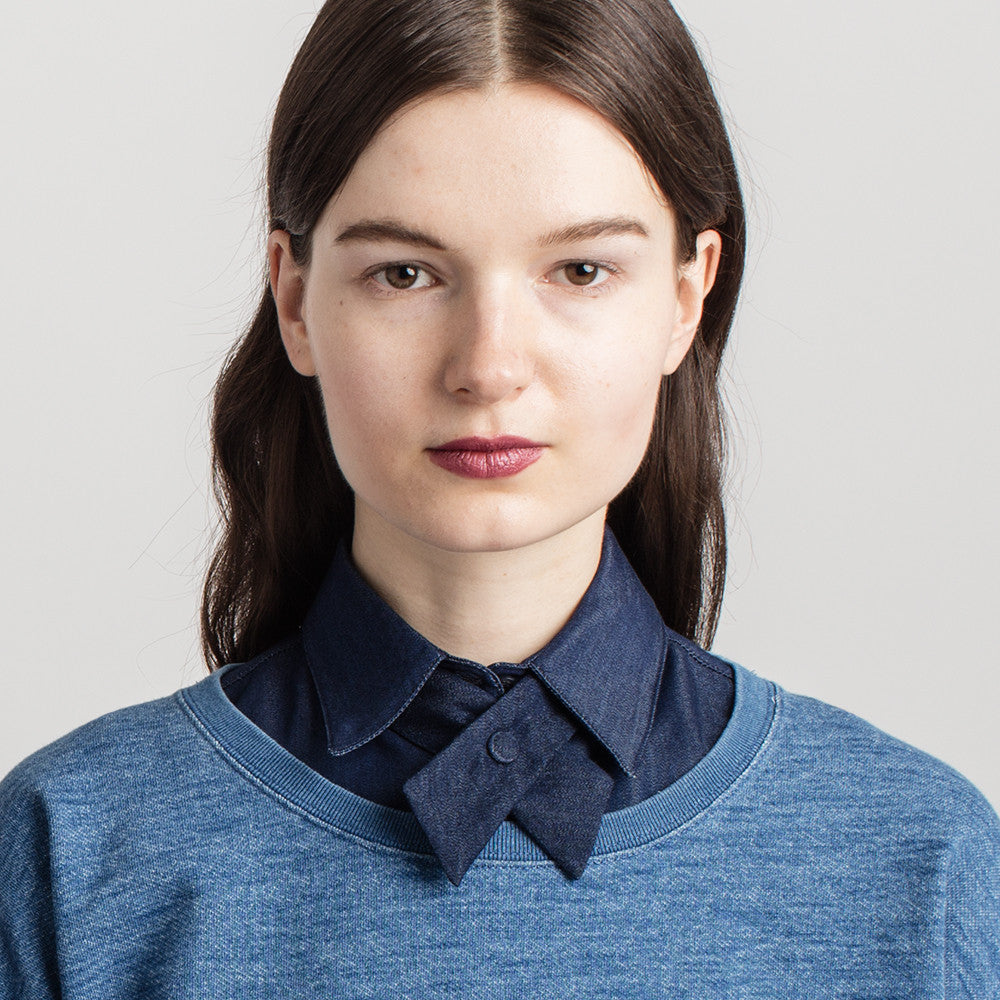 Le Cou, bow tie, bow, denim, women