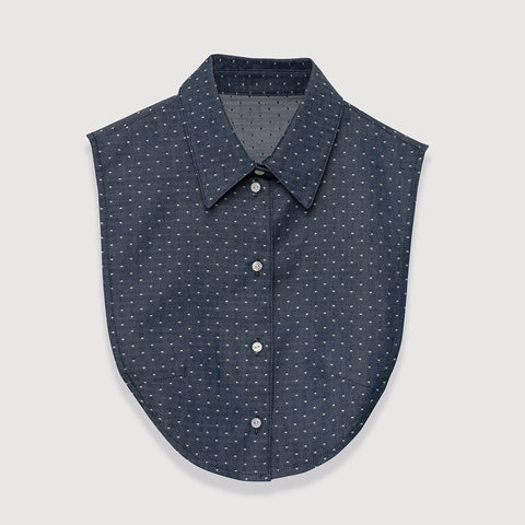 The Wakefield in Polka Dot Chambray