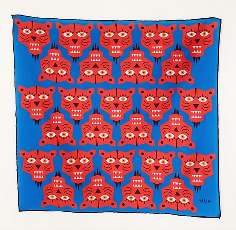 "Eye Love Tigres Bandana 22""x 22"""