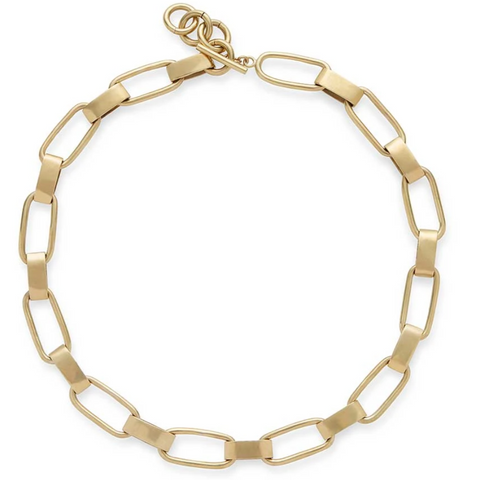 Capsule Collar Gold Necklace