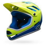 BELL Casco SANCTION Full-Face  Amarillo Fluo/Azul