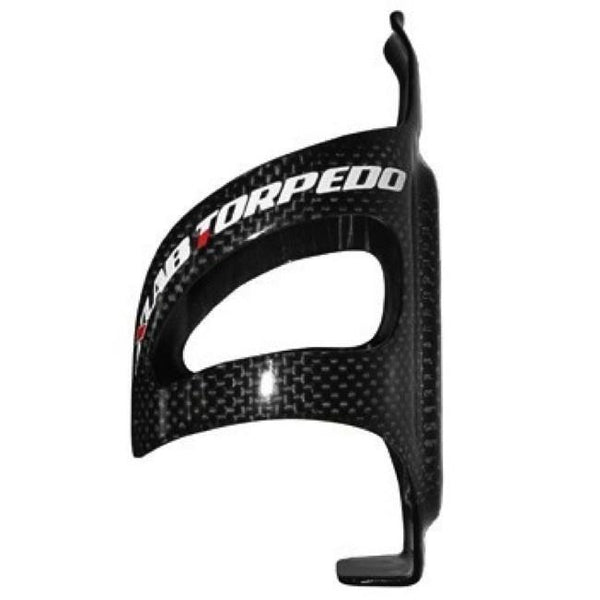 X-Lab Torpedo Water Bottle Aero Cage: Carbon; Black