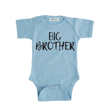 big brother tee onesie blue big brother sibling onesie