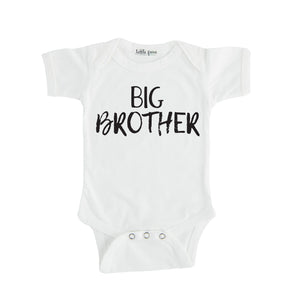 big brother tee onesie white big brother sibling onesie