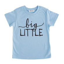 big little tee shirt blue big little sibling onesie pregnancy announcement sibling tshirt set