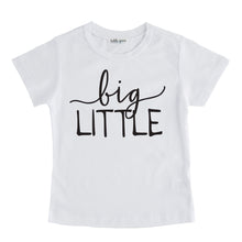 big little tee shirt white big little sibling onesie pregnancy announcement sibling tshirt set