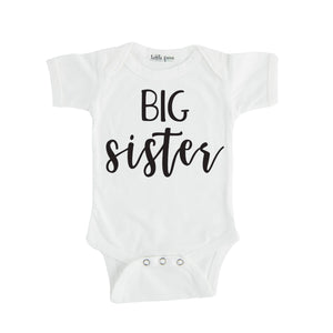 Big Sister - Pregnancy Announcement Sibling Tee