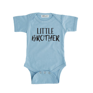 little brother onesie blue little brother sibling onesie big brother little brother set
