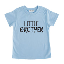 little brother tee shirt blue little brother sibling tshirt big brother little brother set