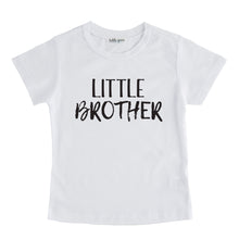 little brother tee shirt white little brother sibling tshirt big brother little brother set